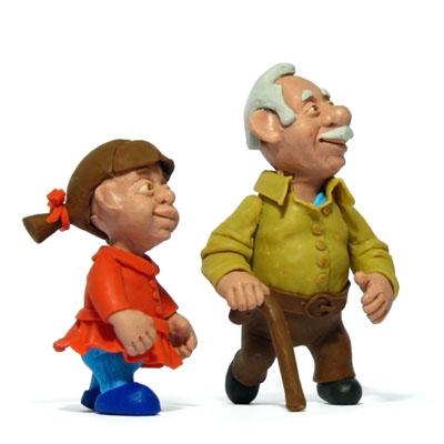 granddaughter & grandpa