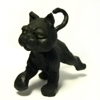 """""""Melody"""" (the black cat)"""